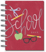 The Happy Planner - Me and My Big Ideas - Classic Happy Planner - School Days - 12 Months (Dated, Horizontal)