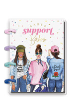The Happy Planner - Me and My Big Ideas - Micro Happy Notes - Rongrong - Babes Support Babes (Dot Grid)