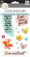 The Happy Planner - Me and My Big Ideas - Sticker Sheets - Empowering Women