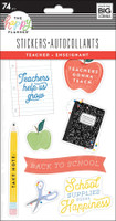 The Happy Planner - Me and My Big Ideas - Stickers Sheets - Teacher