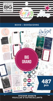 The Happy Planner - Me and My Big Ideas - Value Pack Stickers - Boho - BIG (#487)