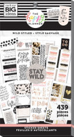 The Happy Planner - Me and My Big Ideas - Value Pack Stickers - Classic - Wild Styled (#439)