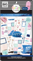 The Happy Planner - Me and My Big Ideas - Value Pack Stickers - Classic - Year to Shine Goals (#477)