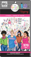 The Happy Planner - Me and My Big Ideas - Value Pack Stickers - Classic - Rongrong - Fitness (#570)