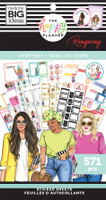 The Happy Planner - Me and My Big Ideas - Value Pack Stickers - Classic - Rongrong - Everyday (#571)