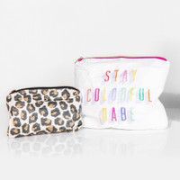 The Happy Planner - Me and My Big Ideas - Flexible Pouch - Stay Colorful