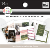 The Happy Planner - Me and My Big Ideas - Tiny Sticker Pad - Farmhouse
