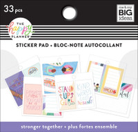 The Happy Planner - Me and My Big Ideas - Tiny Sticker Pad - Stronger Together