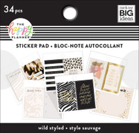 The Happy Planner - Me and My Big Ideas - Tiny Sticker Pad - Wild Styled