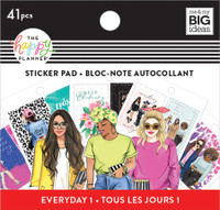 The Happy Planner - Me and My Big Ideas - Tiny Sticker Pad - Rongrong - Stand Together