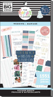 The Happy Planner - Me and My Big Ideas - Value Pack Stickers - Classic - Wedding (#1551)