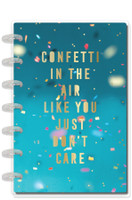 The Happy Planner - Me and My Big Ideas - Mini Happy Planner® - Confetti In The Air Celebrate - 12 Months (Dated, Lined Vertical)