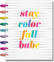 The Happy Planner - Me and My Big Ideas - Classic Happy Planner - Color Me Happy - 18 Months (Dated, Lined Vertical)