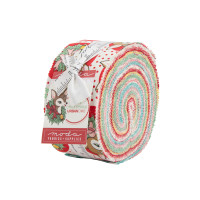 Moda Fabric Precuts Jelly Roll - Deer Christmas by Urban Chiks