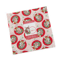Moda Fabric Precuts Layer Cake - Deer Christmas by Urban Chiks