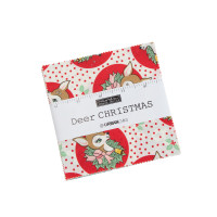 Moda Fabric Precuts Charm Pack - Deer Christmas by Urban Chiks