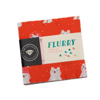 Moda Fabric Precuts Charm Pack - Flurry by Ruby Star Society