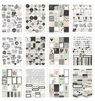 Carpe Diem - Simple Stories - A5 Sticker Book - Beautiful
