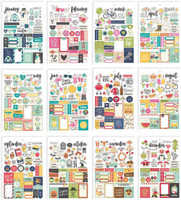 Carpe Diem - Simple Stories - A5 Sticker Book - Seasons