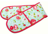 Moda Fabric - The Good Life - Bonnie & Camille - Oven Mitt - Aqua