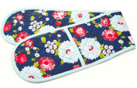 Moda Fabric - The Good Life - Bonnie & Camille - Oven Mitt - Navy