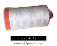Aurifil White 100% Cotton Mako Spool Thread Aurifil #MK50-2024
