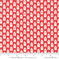 Moda Fabric - At Home - Bonnie & Camille - Red #55202 11