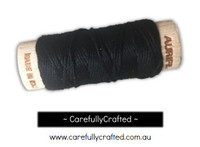AuriFloss Black 6 Strand 100% Cotton Embroidery Floss Spool Aurifil #2692