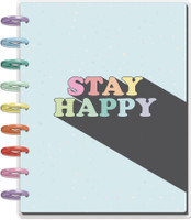 The Happy Planner - Me and My Big Ideas - Classic Happy Planner - Pastel Rainbow - 18 Months (Dated, Color Block)