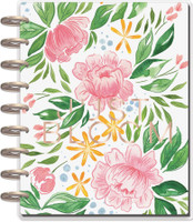The Happy Planner - Me and My Big Ideas - Classic Happy Planner - Detailed Florals  - 18 Months (Dated, Dashboard)