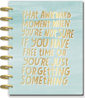 The Happy Planner - Me and My Big Ideas - Classic Happy Planner - LOL Quotes - 18 Months (Dated, Horizontal)