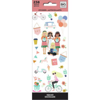 The Happy Planner - Me and My Big Ideas - Petite Sticker Sheets - Squad