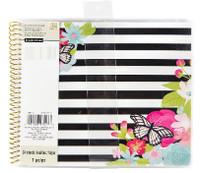 Recollections - Floral Stripe Spiral Sticker Album