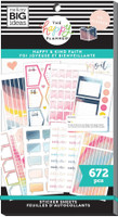 The Happy Planner - Me and My Big Ideas - Value Pack Stickers - Classic - Happy & Kind Faith (#672)