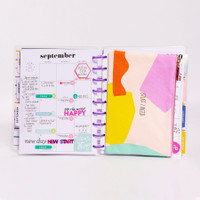 The Happy Planner - Me and My Big Ideas - Classic Snap In Flexible Pouch - LOL Quotes