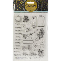 Studio Light - Planner Journal A5 Stamp - Planner Stamps - Days of the Week #2