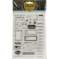 Studio Light - Planner Journal A5 Stamp - Planner Stamps - Months #2