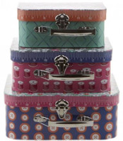Moda Fabrics - Sew On The Go Suitcases Set 3 - Cotton