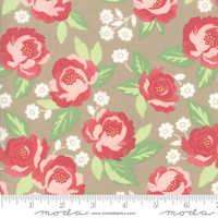Moda Fabric - Bloomington - Lella Boutique - Taupe #5110 12