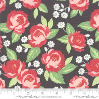 Moda Fabric - Bloomington - Lella Boutique - Charcoal #5110 13