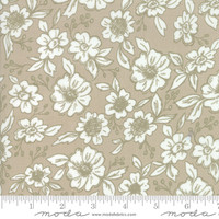 Moda Fabric - Bloomington - Lella Boutique - Taupe #5111 12