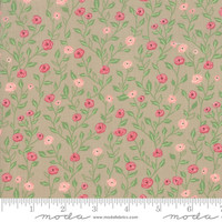 Moda Fabric - Bloomington - Lella Boutique - Taupe #5112 12