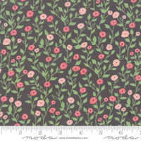 Moda Fabric - Bloomington - Lella Boutique - Charcoal #5112 13