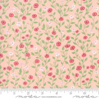 Moda Fabric - Bloomington - Lella Boutique - Posie Pink #5112 15