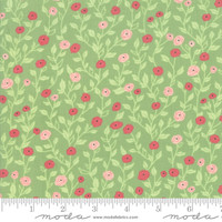 Moda Fabric - Bloomington - Lella Boutique - Sage #5112 17