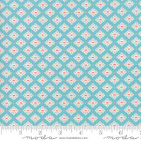 Moda Fabric - Bloomington - Lella Boutique - Teal #5113 16