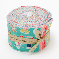 Riley Blake Fabric - Cozy Christmas - Lori Holt - Jelly Roll