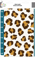 The Happy Planner - Me and My Big Ideas - Classic Snap In Flexible Pouch - Leopard