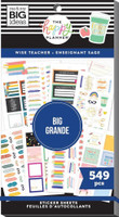 The Happy Planner - Me and My Big Ideas - Value Pack Stickers - Big - Wise Teacher (#549)