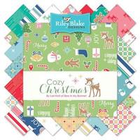 Riley Blake Fabric - Cozy Christmas - Lori Holt - Fat Quarter Bundle
